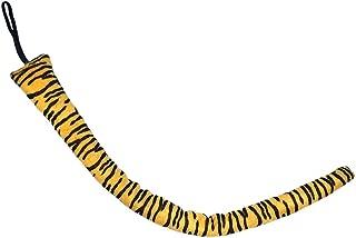 SeasonsTrading Long Plush Tiger Tail - Halloween Tiger Costume Dress Up Yellow