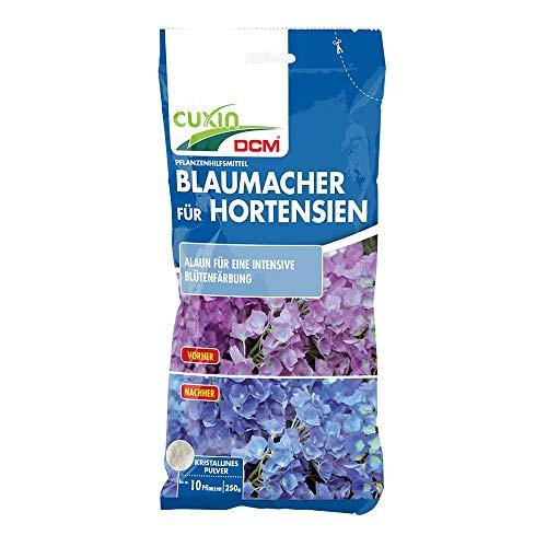 Cuxin Blaumacher für Hortensien⎜für ca. 10 Hortensien Pflanzen ⎜ (Blaumacher 250 g)