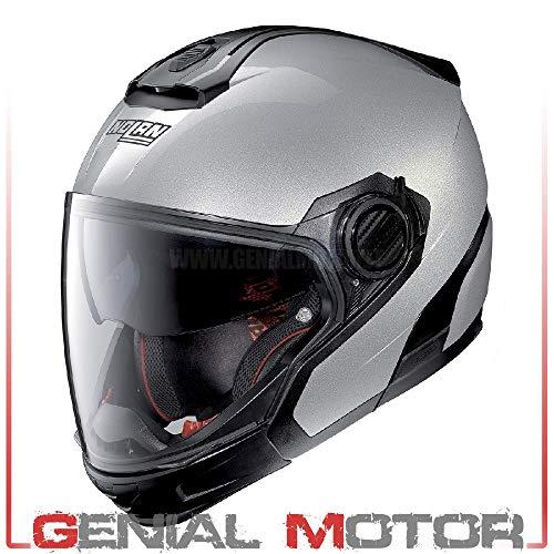 Nolan N40-5 GT SPECIAL N-COM SALT SILVER XXS