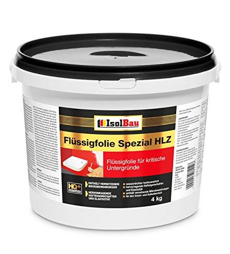 Flüssigfolie Spezial HLZ 4 kg Dichtfolie Abdichtung Balkon Bad Dusche Küche