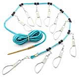Best Fish Stringers - Hurricane 15' Stringer with 10 Stainless Steel Snaps Review