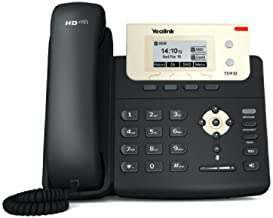 Yealink T21P E2 IP Phone, 2 Lines. 2.3-Inch Graphical Display. Dual-port 10/100 Ethernet, 802.3af PoE, Power Adapter Not Included (SIP-T21P E2)