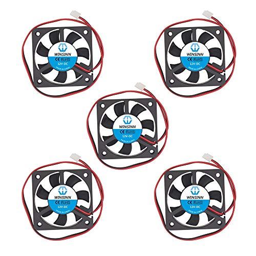 WINSINN Ventilador 5010 sin escobillas 5010 de 50 x 10 mm, alta velocidad (paquete de 5 unidades)