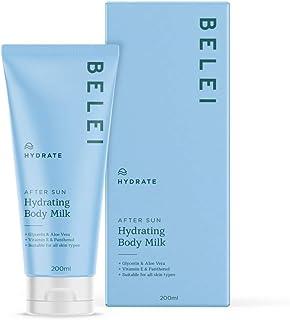 Belei - Hydraterende en herstellende aftersun bodylotion met glycerine, aloë vera, vitamine E en panthenol, 200 ml