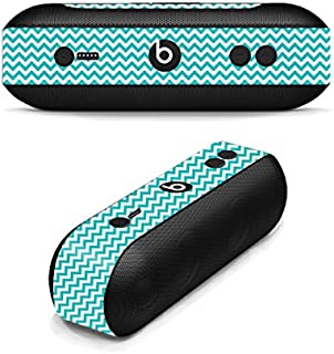 MightySkins Skin Compatible with Beats by Dr. Dre Pill Plus - Turquoise Chevron | Protective, Durable, and Unique Vinyl Decal wrap Cover | Easy to Apply, Remove, and Change Styles | Made in The USA