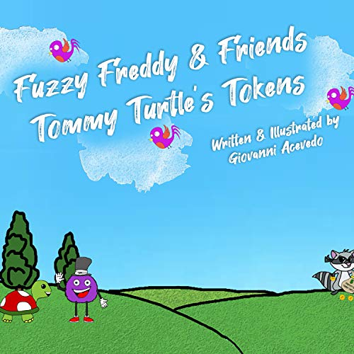 Fuzzy Freddy and Friends Tommy Turtle's Tokens (English Edition)