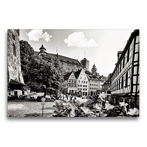 CALVENDO Premium Textil-Leinwand 75 x 50 cm Quer-Format Albrecht-Dürer Platz, Leinwanddruck von Markus W. Lambrecht