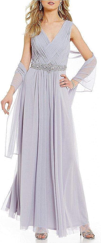 Jessica Howard Women's Award-winning store Plus Gown Size 2021 new Basketweave