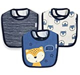 Unknown baby boys 3-pack Dribbler Bib Costumes, Awesome Fox, One Size US