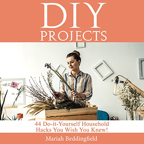 DIY Projects audiobook cover art