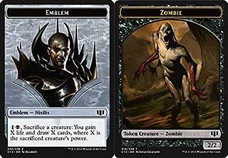 Magic: the Gathering - Emblem - Nixilis // Zombie Token - Black - Commander 2014