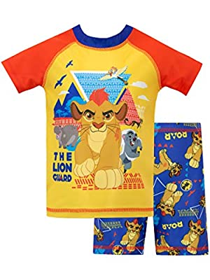 Disney Boys' The Lion Guard Two Piece Swim Set Size 3T Multicolored