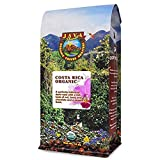 Java Planet, Organic Coffee Beans, Costa Rica Single Origin, Gourmet Dark Roast of Arabica Whole Bean Coffee, Certified Organic, Grown at High Altitudes 1 14 oz bag