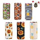 Personalized Vacation Slim Can Cooler,6Pack Neoprene Slim Can Cooler,Cozy Neoprene Cooler,Slim Can...