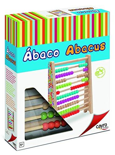 Cayro – 8105 – Abacus van hout, 24,8 x 30,7 x 6,5 cm