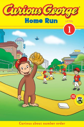 Curious George Home Run (CGTV Early Reader) (Green Light Readers Level 1) (English Edition)