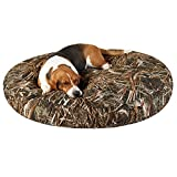 Max 5 Round Dog Bed for large dogs, 50x50-inches