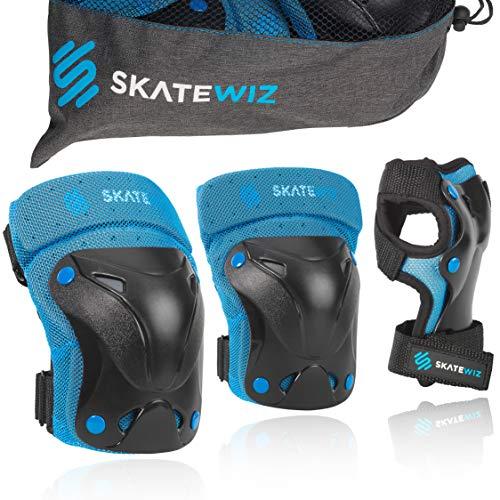 SKATEWIZ Protect-1 Schutzausrüstung Größe XS in BLAU