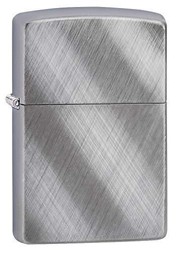 Zippo 28182 - Accendino ricaricabile originale, Diagonal Weave