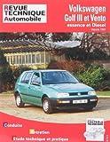 E.T.A.I - Revue Technique Automobile 720.2 - VOLKSWAGEN VENTO/GOLF III - 1H - 1992 à 1999