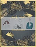 Justin Bieber School Planner 2021/2022: DATED Calendar | Monthly Journal | Organizer For Lessons | incl. Coloring Pages For One and Only Fans | Tropical Grey