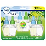 Febreze Plug in Air Freshener, Odor Eliminating Scented Oil Refill, Gain Original Scent, 3 Count