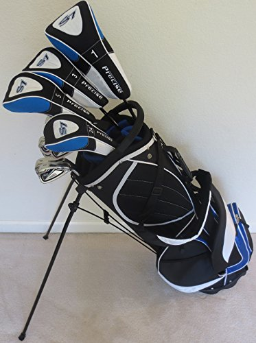 Mens Complete Golf Set Custom Made Clubs for Tall Men 6 feet to 6 feet 6 inches Tall Driver, Fairway Woods, Hybrid, Irons, Putter Taylor Fit Regular Flex Shafts