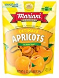 Mariani Ultimate Dried Apricots -48oz (Pack of 1) –Intense Flavor and Aroma, No Sugar Ad...