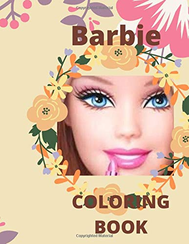 BARBIE COLORING BOOK: BARBIE COLORING BOOK For All Ages With