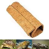 Alfombra para reptiles, para terrario, de color marrón, para reptiles, para todo tipo de Gecko, dragones barbudos, lagartos, Iguanas, Anoles, tortugas, serpientes, hecho de coco natural, 60 x 40,6 cm
