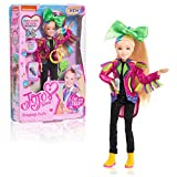 JoJo Siwa 10 Inch Singing Doll, Sings Hit Song Titled Non-Stop, Pink Jacket with Rainbow Fringe
