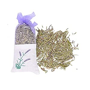 YYFZ Flowers Natural Dried Flowers Rose Jasmine Lavender Bud Flower Sachet Bag Filling Real Natural Lasting Lavend Car Room Air Refreshing Artificial Flowers (Color : Rosemary)
