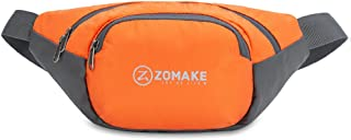 ZOMAKE Fanny Pack Water Resistant Waist Bag, Large Capacity with Adjustable Strap for Men and Women Fanny Pack Running Pou...