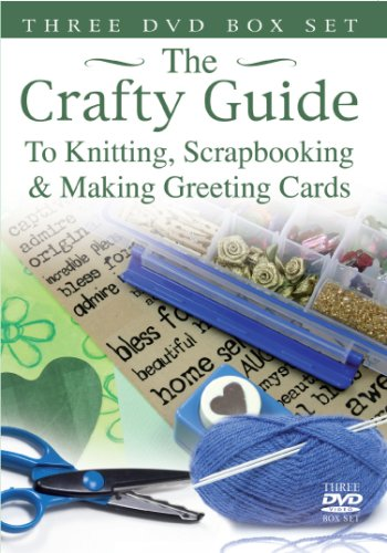 CRAFTY GUIDE - Knitting/Scrapbooking/Making Greeting Cards [3 DVDs] [UK Import]