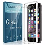 [3 Pack] Tocol Tempered Glass Screen Protector for iPhone 6s Plus and iPhone