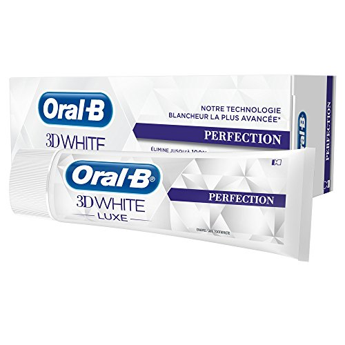 ORAL-B 3D white luxe perfection 75ml pack duo