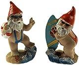 Top Toys 4U Set Of 2 Mini 8cm Tall Mankini Gnome Figurines - Home/Garden