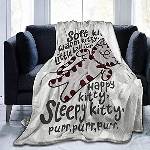 The Big Bang Theory Picknickdecke aus Fleece, für Erwachsene, für Bett, Sofa, Camping, Kino oder Reisen, 127 x 101,6 cm