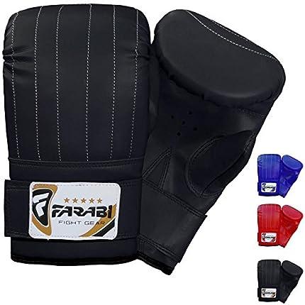 FARABI Guantes de Boxeo de Saco de Boxeo para Entrenamiento de Artes Marciales Mixtas (MMA) - Talla Grande