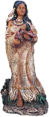StealStreet SS-G-11314 Native Americans with Baby Collectible Indian Figurine Sculpture Statue