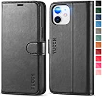 TUCCH Wallet Case for iPhone 12/12 Pro 5G