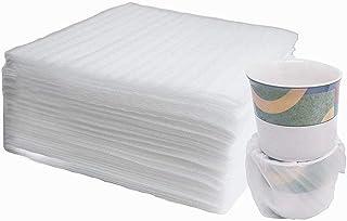 ANKKY 100Stk Schaumfolie Verpackungsmaterial Luftpolsterfolie Umzugsmaterial für Kartons Umzug Geschirr Gläser Weinflaschen Versand330 x 330x 1mm