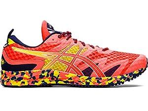ASICS Men's Gel-Noosa Tri 12 Running Shoes, 9M, Flash Coral/Flash Coral