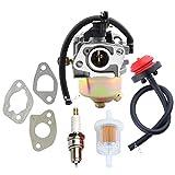 170S HUAYI Carburetor Carburetor Primer Bulb for MTD Troy Bilt Cub Cadet Snow Blower 951-14026A 951-14027A 951-10638A 751-14026A 751-10638A Carb