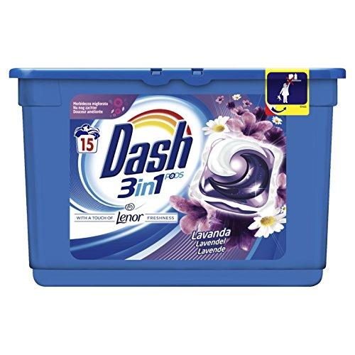 Dash Pods Waschmittel mit Duft Lavendel, Hohe Reinigungskraft