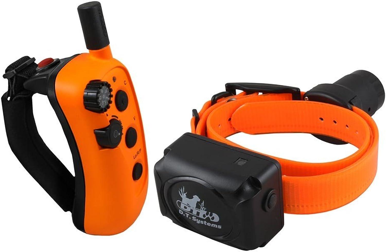 D.T. Systems R.A.P.T. 1450 Remote Dog Trainer, orange Black