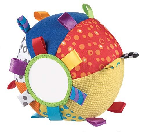 Playgro Mein erster Schmuseball, Lernspielzeug, Ab 3 Monaten, Loopy Loops, Bunt, 40079