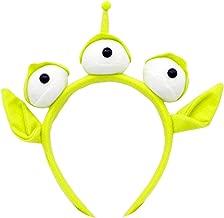 Monster-Stirnband Party Augapfel Haarband Schweißband Headwrap Außerirdisches Pelziges Kostüm Kopfschmuck Geschenk