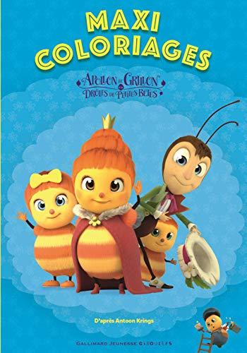 Maxi Coloriages des Drôles de Petites Bêtes - Dès 3 ans