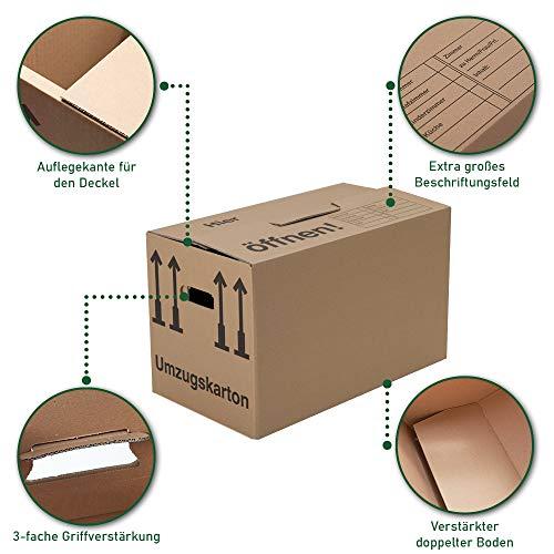 Umzugskartons 30 Stück Profi STABIL 2-wellig von BB-Verpackungen - 5
